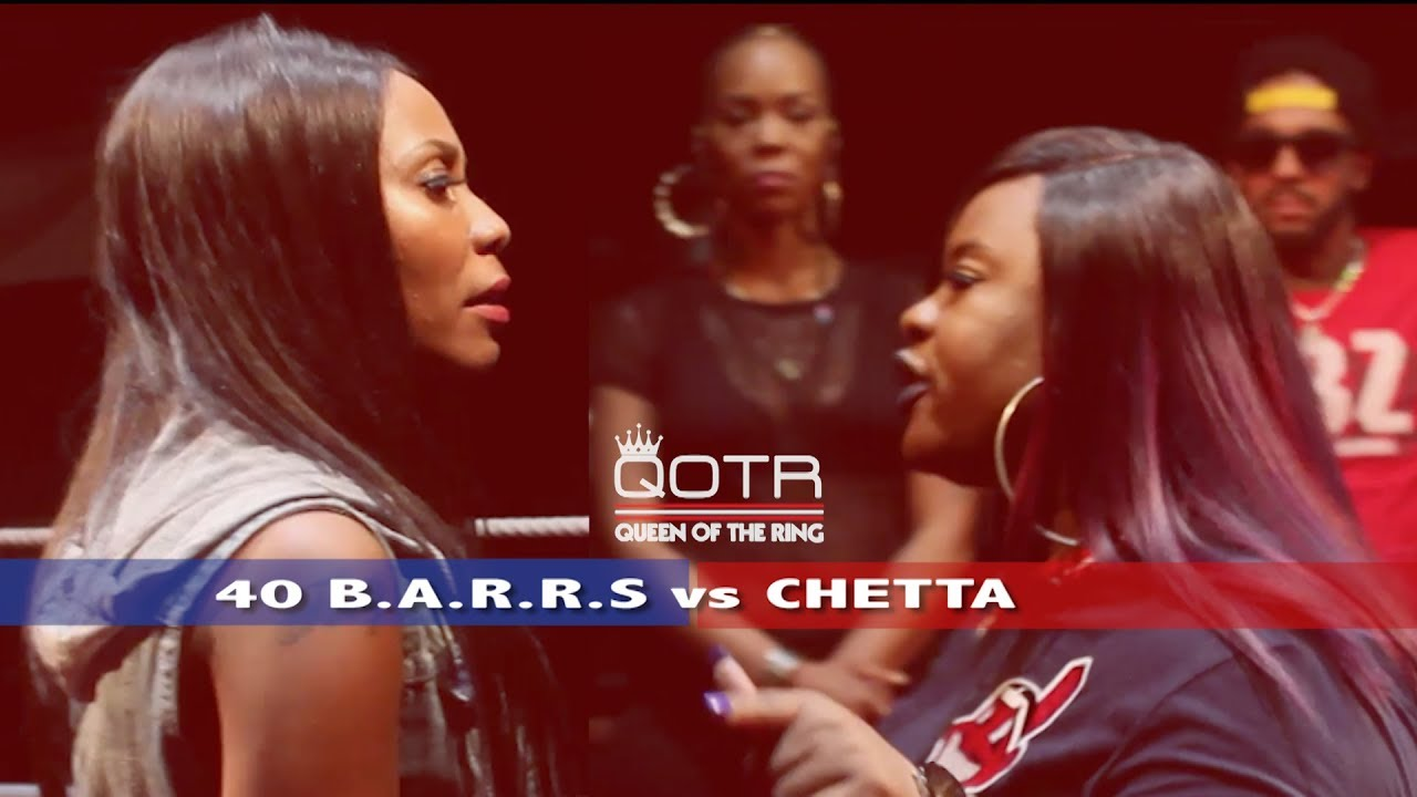 40 b a r r s vs chetta queen of the ring versetracker