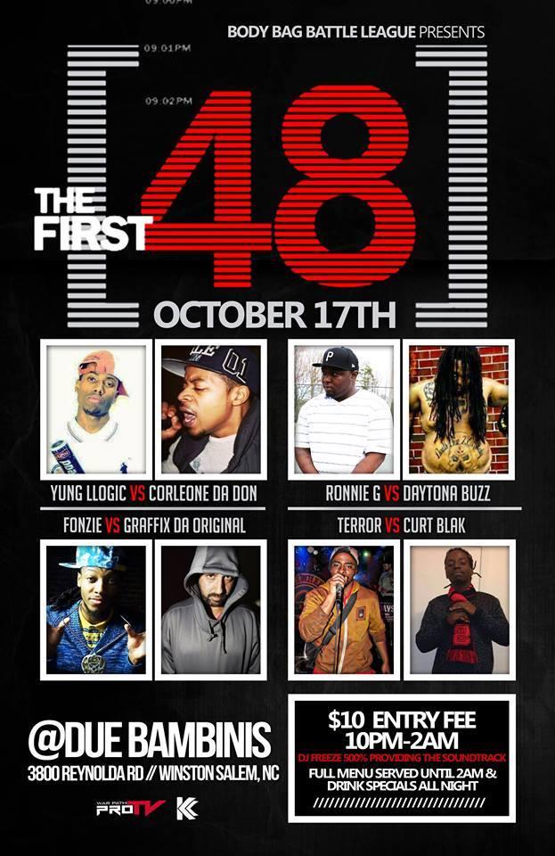 The First 48 - Body Bag Battle League | Battle Rap Event