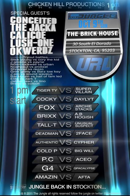 The Brick House - Da Jungle | Battle Rap Event | VerseTracker