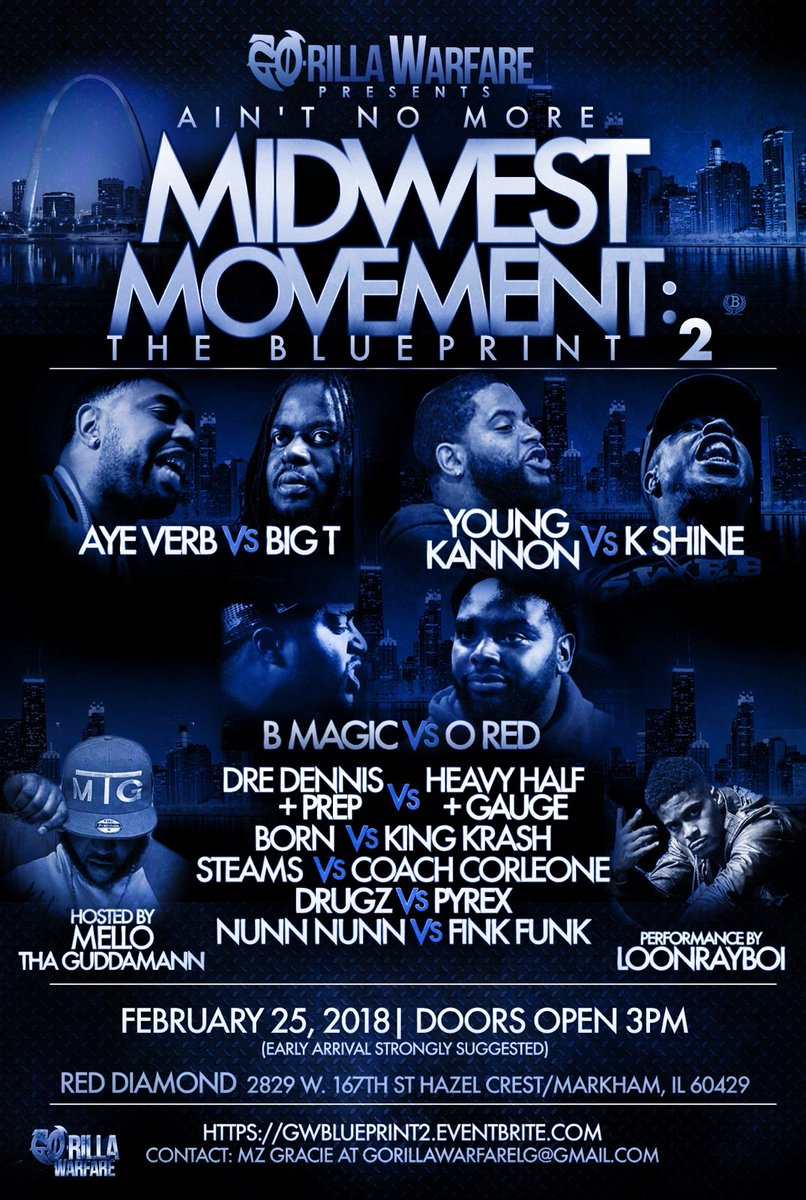Aint no more midwest movement the blueprint 2 go rilla warfare event matchups malvernweather Choice Image