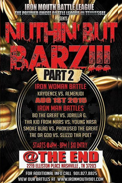 Nuthin' But Barz - Part 2 - Iron Mouth Battle League | Battle Rap