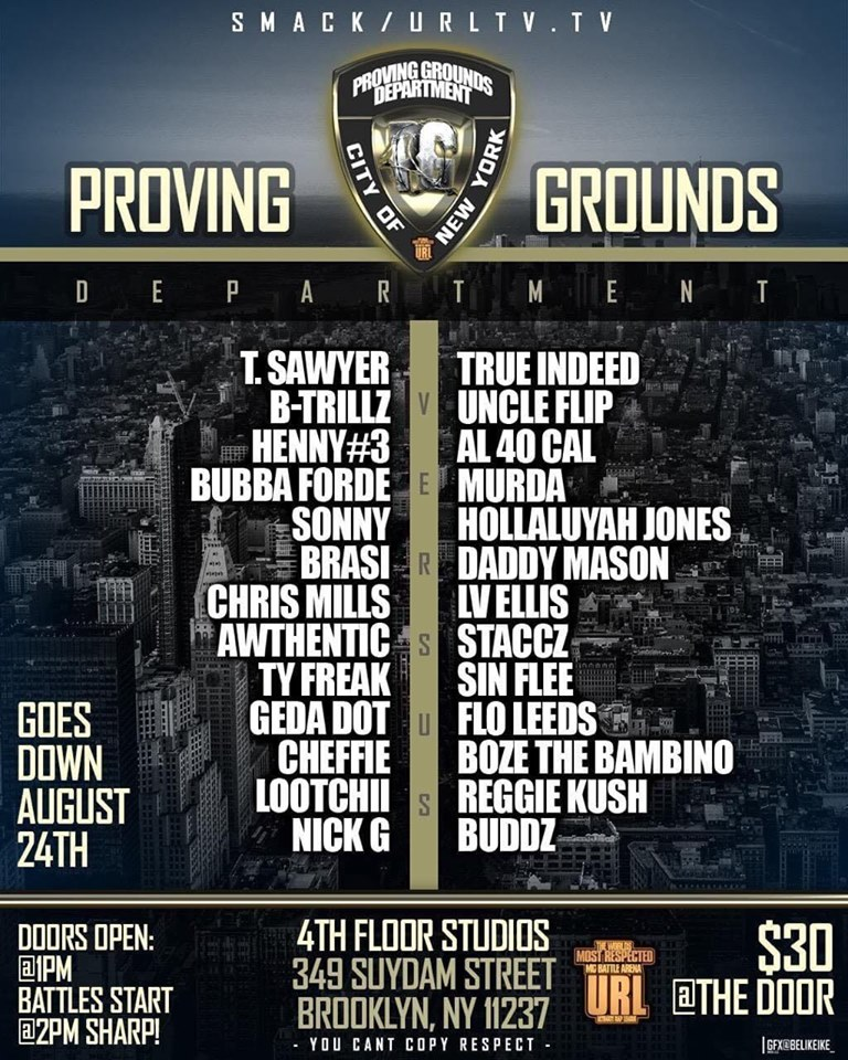 Proving Grounds Department: City Of New York